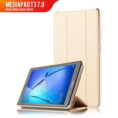 Cover Portafoglio In Pelle con Supporto per Huawei MediaPad T3 7.0 BG2-W09 BG2-WXX Oro