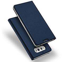 Cover Portafoglio In Pelle con Supporto per LG V20 Blu