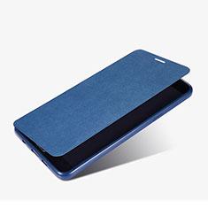 Cover Portafoglio In Pelle con Supporto per Samsung Galaxy A9 Pro (2016) SM-A9100 Blu
