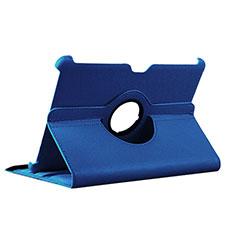 Cover Portafoglio In Pelle con Supporto per Samsung Galaxy Tab 2 10.1 P5100 P5110 Blu