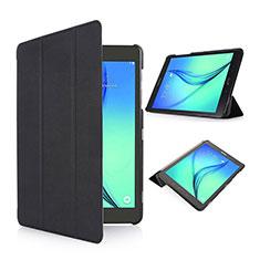 Cover Portafoglio In Pelle con Supporto per Samsung Galaxy Tab S2 8.0 SM-T710 SM-T715 Nero