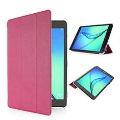 Cover Portafoglio In Pelle con Supporto per Samsung Galaxy Tab S2 8.0 SM-T710 SM-T715 Rosa