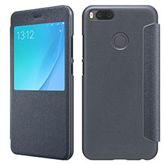 Cover Portafoglio In Pelle con Supporto per Xiaomi Mi A1 Nero