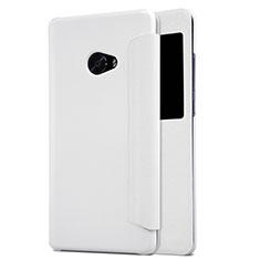 Cover Portafoglio In Pelle con Supporto per Xiaomi Mi Note 2 Special Edition Bianco
