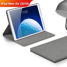 Cover Portafoglio In stoffa con Supporto per Apple iPad Air 3 Grigio