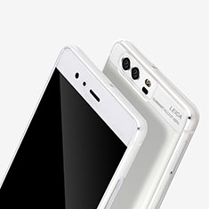 Cover Silicone Gel Trasparente Ultra Slim Morbida per Huawei P9 Plus Chiaro
