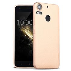 Cover Silicone Morbida Lucido per HTC Desire 10 Pro Oro
