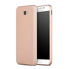 Cover Silicone Morbida Lucido per Samsung Galaxy J7 Prime Oro