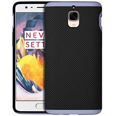Cover Silicone Morbida Spigato per OnePlus 3T Blu