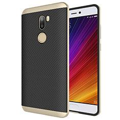 Cover Silicone Morbida Spigato per Xiaomi Mi 5S Plus Oro