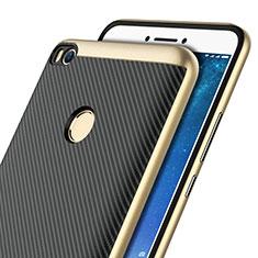Cover Silicone Morbida Spigato per Xiaomi Mi Max 2 Oro