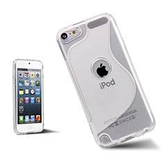 Cover Silicone Trasparente Morbida S-Line per Apple iPod Touch 5 Bianco