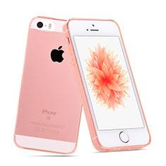 Cover Silicone Trasparente Ultra Slim Morbida per Apple iPhone SE Chiaro