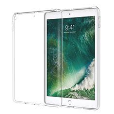 Cover Silicone Trasparente Ultra Slim Morbida per Apple New iPad 9.7 (2017) Chiaro