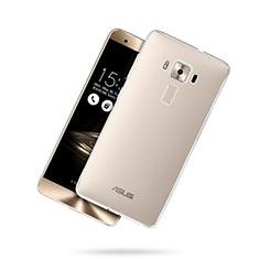 Cover Silicone Trasparente Ultra Slim Morbida per Asus Zenfone 3 Deluxe ZS570KL ZS550ML Chiaro