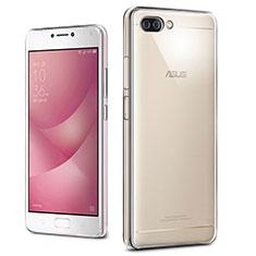 Cover Silicone Trasparente Ultra Slim Morbida per Asus Zenfone 4 Max ZC554KL Chiaro