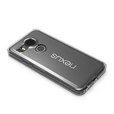 Cover Silicone Trasparente Ultra Slim Morbida per Google Nexus 5X Chiaro