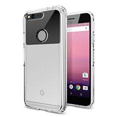 Cover Silicone Trasparente Ultra Slim Morbida per Google Pixel XL Chiaro