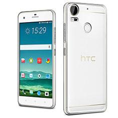 Cover Silicone Trasparente Ultra Slim Morbida per HTC Desire 10 Pro Chiaro