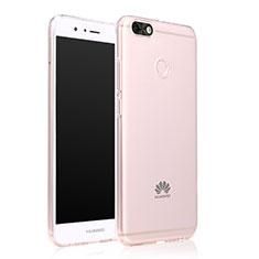 Cover Silicone Trasparente Ultra Slim Morbida per Huawei Enjoy 7 Chiaro