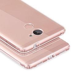 Cover Silicone Trasparente Ultra Slim Morbida per Huawei Enjoy 7 Plus Chiaro