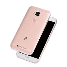 Cover Silicone Trasparente Ultra Slim Morbida per Huawei G8 Chiaro