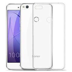 Cover Silicone Trasparente Ultra Slim Morbida per Huawei Honor 8 Lite Chiaro