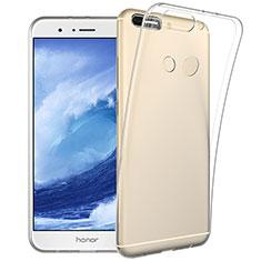 Cover Silicone Trasparente Ultra Slim Morbida per Huawei Honor V9 Chiaro