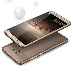 Cover Silicone Trasparente Ultra Slim Morbida per Huawei Mate 10 Grigio