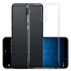 Cover Silicone Trasparente Ultra Slim Morbida per Huawei Mate 10 Lite Chiaro
