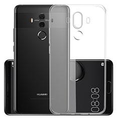 Cover Silicone Trasparente Ultra Slim Morbida per Huawei Mate 10 Pro Chiaro