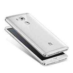 Cover Silicone Trasparente Ultra Slim Morbida per Huawei Mate 8 Chiaro