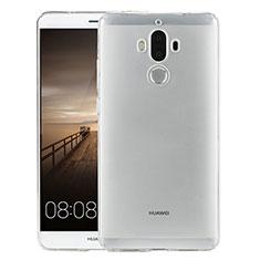 Cover Silicone Trasparente Ultra Slim Morbida per Huawei Mate 9 Chiaro