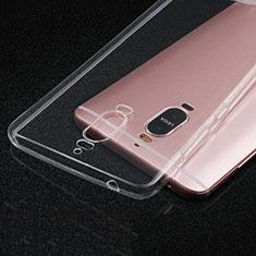Cover Silicone Trasparente Ultra Slim Morbida per Huawei Mate 9 Pro Chiaro