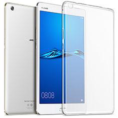 Cover Silicone Trasparente Ultra Slim Morbida per Huawei MediaPad M3 Chiaro