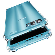 Cover Silicone Trasparente Ultra Slim Morbida per Huawei Nova 2S Chiaro