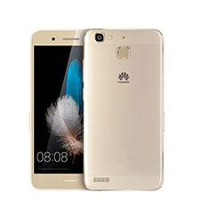 Cover Silicone Trasparente Ultra Slim Morbida per Huawei P8 Lite Smart Chiaro