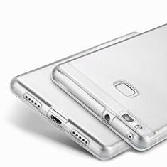 Cover Silicone Trasparente Ultra Slim Morbida per Huawei P9 Lite Chiaro