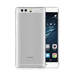 Cover Silicone Trasparente Ultra Slim Morbida per Huawei P9 Plus Chiaro