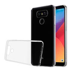 Cover Silicone Trasparente Ultra Slim Morbida per LG G6 Chiaro