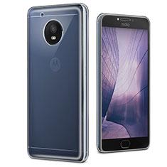 Cover Silicone Trasparente Ultra Slim Morbida per Motorola Moto E4 Plus Chiaro
