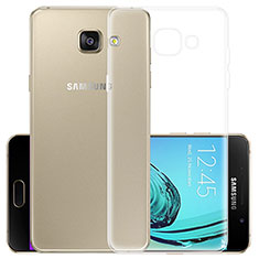 Cover Silicone Trasparente Ultra Slim Morbida per Samsung Galaxy A5 (2017) Duos Chiaro