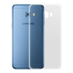 Cover Silicone Trasparente Ultra Slim Morbida per Samsung Galaxy C7 Pro C7010 Chiaro