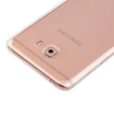 Cover Silicone Trasparente Ultra Slim Morbida per Samsung Galaxy C9 Pro C9000 Chiaro