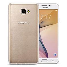 Cover Silicone Trasparente Ultra Slim Morbida per Samsung Galaxy J7 Prime Chiaro