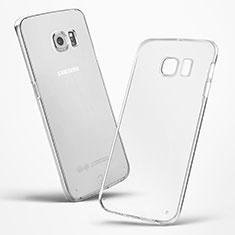 Cover Silicone Trasparente Ultra Slim Morbida per Samsung Galaxy S6 Edge SM-G925 Chiaro