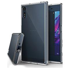 Cover Silicone Trasparente Ultra Slim Morbida per Sony Xperia XZ Chiaro
