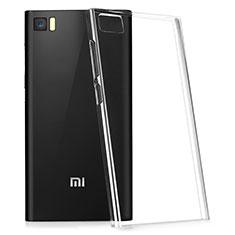 Cover Silicone Trasparente Ultra Slim Morbida per Xiaomi Mi 3 Chiaro