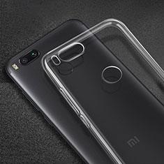 Cover Silicone Trasparente Ultra Slim Morbida per Xiaomi Mi 5X Chiaro