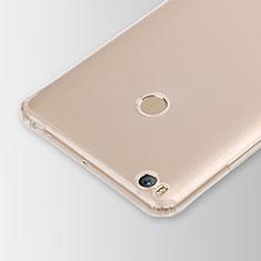 Cover Silicone Trasparente Ultra Slim Morbida per Xiaomi Mi Max 2 Chiaro